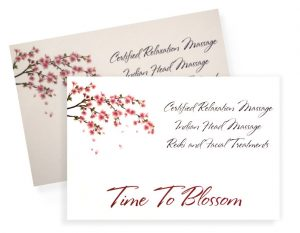 Gift voucher for treatments and facials at Time to Blossom